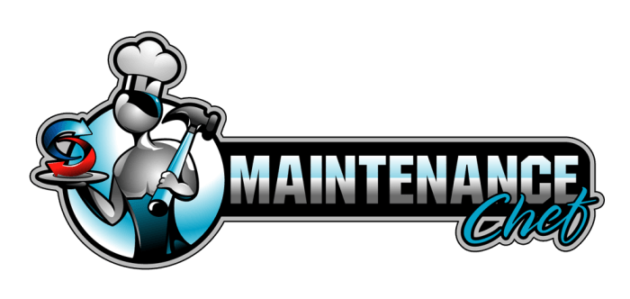 Maintenance Chef Logo Restaurant Equipment Repair